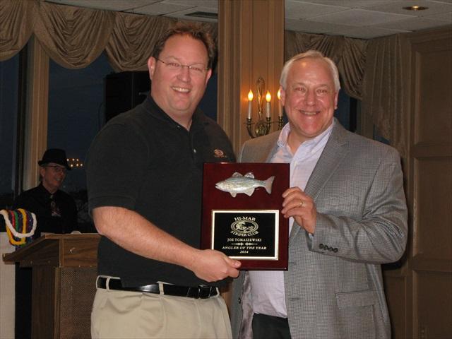 Joe Tomaszewski – 2014 Angler of the Year, Hi-Mar Striper Club